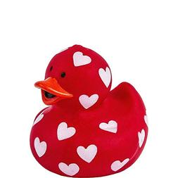 Amscan 390466 Valentine Rubber Duck, 1 1/2 x 1 3/4 inches, R
