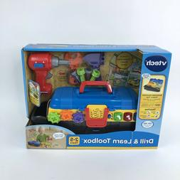 VTech 80-178200 Drill and Learn Toolbox Toy Box Damage New S