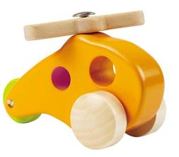 Hape Little Copter Wooden Toy Toddler Play Vehicle