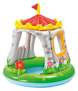 """Intex Royal Castle Baby Pool, 48"""" x 48"""", for Ages 1-3"""