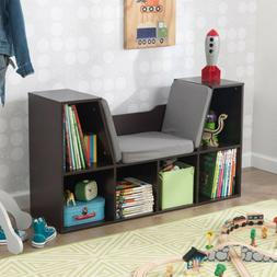 "KidKraft 14231 Bookcase with Reading Nook Toy, 46.46"" x 15.1"