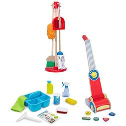 Spray, Squirt, and Squeegee, Toy Vacuum, and Dust, Sweep, Mo