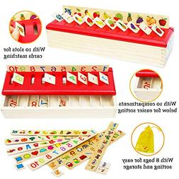 Toys of Wood Oxford Wooden Sorting Box - Sorting Toys for To