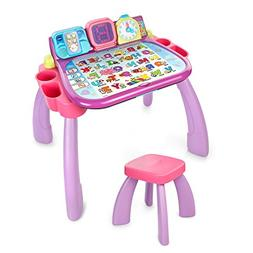 VTech Touch and Learn Activity Desk, Purple