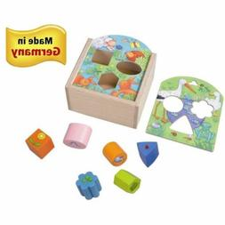HABA Animals Sorting Box - Wooden Shape Sorter and Matching