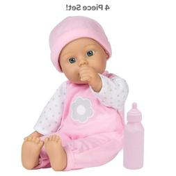 """Baby Doll Kids Toy Toddler Pretend Play Washable 11"""" Soft Bo"""