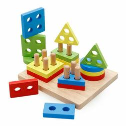 baby toddler kids puzzle early learning toy