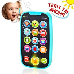 VATOS Baby Toys, Baby Play Phone Toys with Lights, Music| Ea
