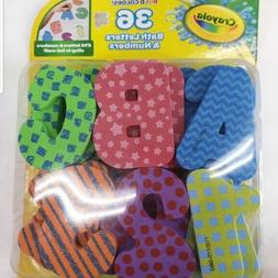 Crayola Bath Letters And Numbers. 36 Count