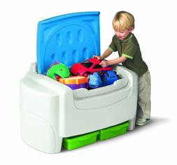 Little Tikes Bright 'n Bold Toy Chest - Green/Blue