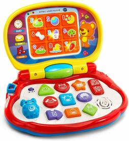 VTech Brilliant Baby Laptop Toy, Red, Frustration Free Packa
