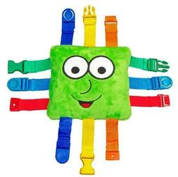 """BUCKLE TOY """"Buster"""" Green Square"""
