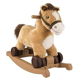 Rockin Rider Charger 2-in-1 Pony Ride-On