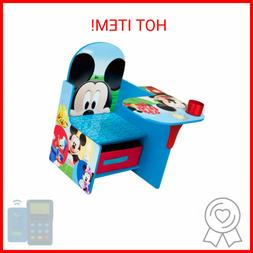 Disney Mickey Mouse Chair Desk with Storage Bin by Delta Chi