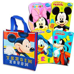 Disney Mickey Mouse Tote Bag with Mickey Mouse Board Book Se
