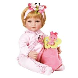 """Adora Toddler Butterfly Romper 20"""" Girl Weighted Doll Gift S"""