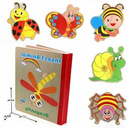 Educational Learning Book Puzzle Toy for Toddler Children -