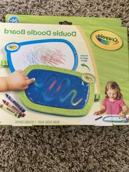 My First Crayola Double Doodle Board, Drawing Tablet, Toddle
