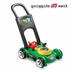 Little Tikes Gas N Go Mower Toy Toddler Pretend Play Green A