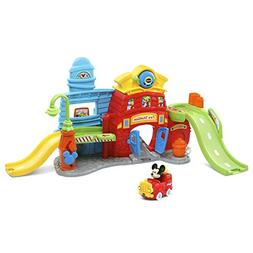 VTech Go! Go! Smart Wheels Mickey Mouse Silly Slides Fire St