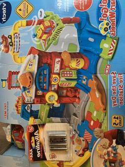 VTech® Go! Go! Smart Wheels Race & Rescue Fire Station