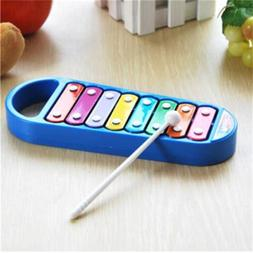 Hand Knocks 8-Note Xylophone Kid Musical Toys Preschool Todd