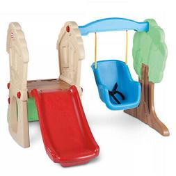 Little Tikes Hide And Seek Climber And Swing Toddlers Outdoo