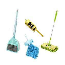 Xifando Kid's Housekeeping Cleaning Tools Set-5pcs,Include M