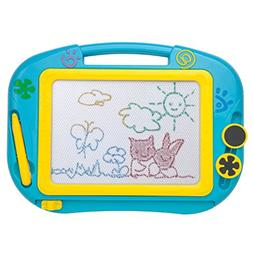 iKidsislands IKS88B  Small Colorful Magnetic Drawing Board f