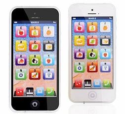Baby iPhone Tablet Educational Toys 1 2 Year Old Toddler Lea