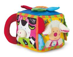 Melissa & Doug K's Kids Musical Farmyard Cube Educational Ba