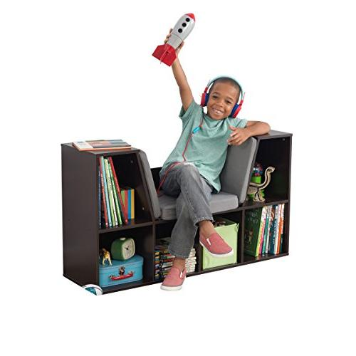 KidKraft Bookcase with Reading Nook Toy, x