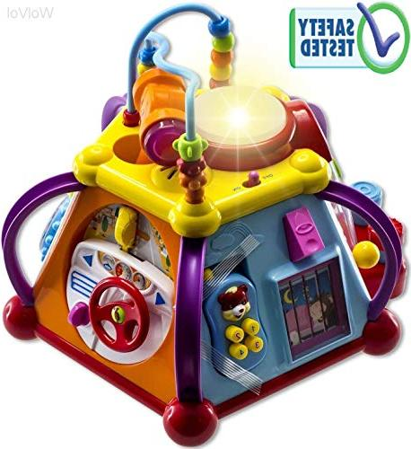 WolVol Educational Kids Toddler Baby Toy Musical Activity Cu