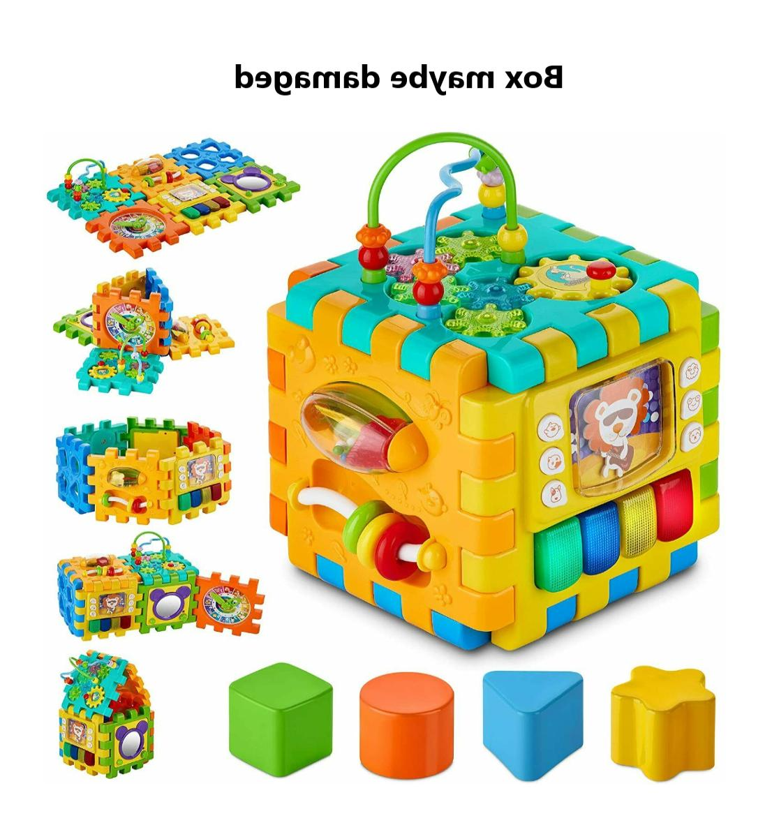 activity cube toddler and infants early development