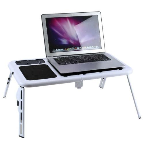 Adjustable Stand Desk Table Foldable Tray with