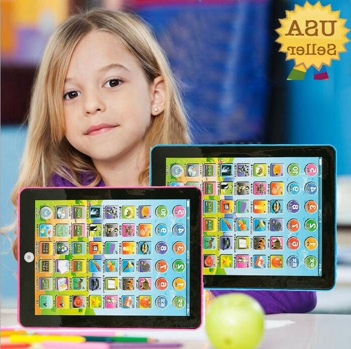 Baby Pad Tablet Educational Toys 1-6 Year Old Toddler Learni