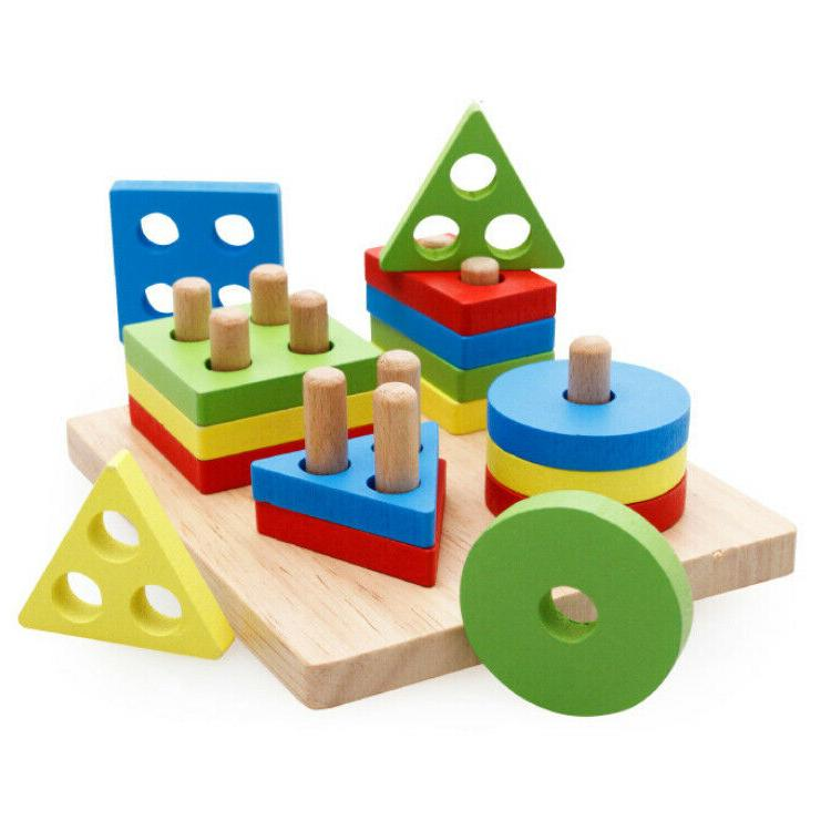 Baby Early Toy Colors Pegs Educational