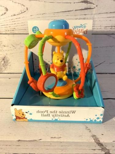 baby winnie the pooh activity ball toddler