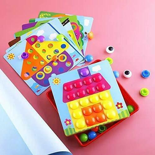 Button Game, Educational Toddler