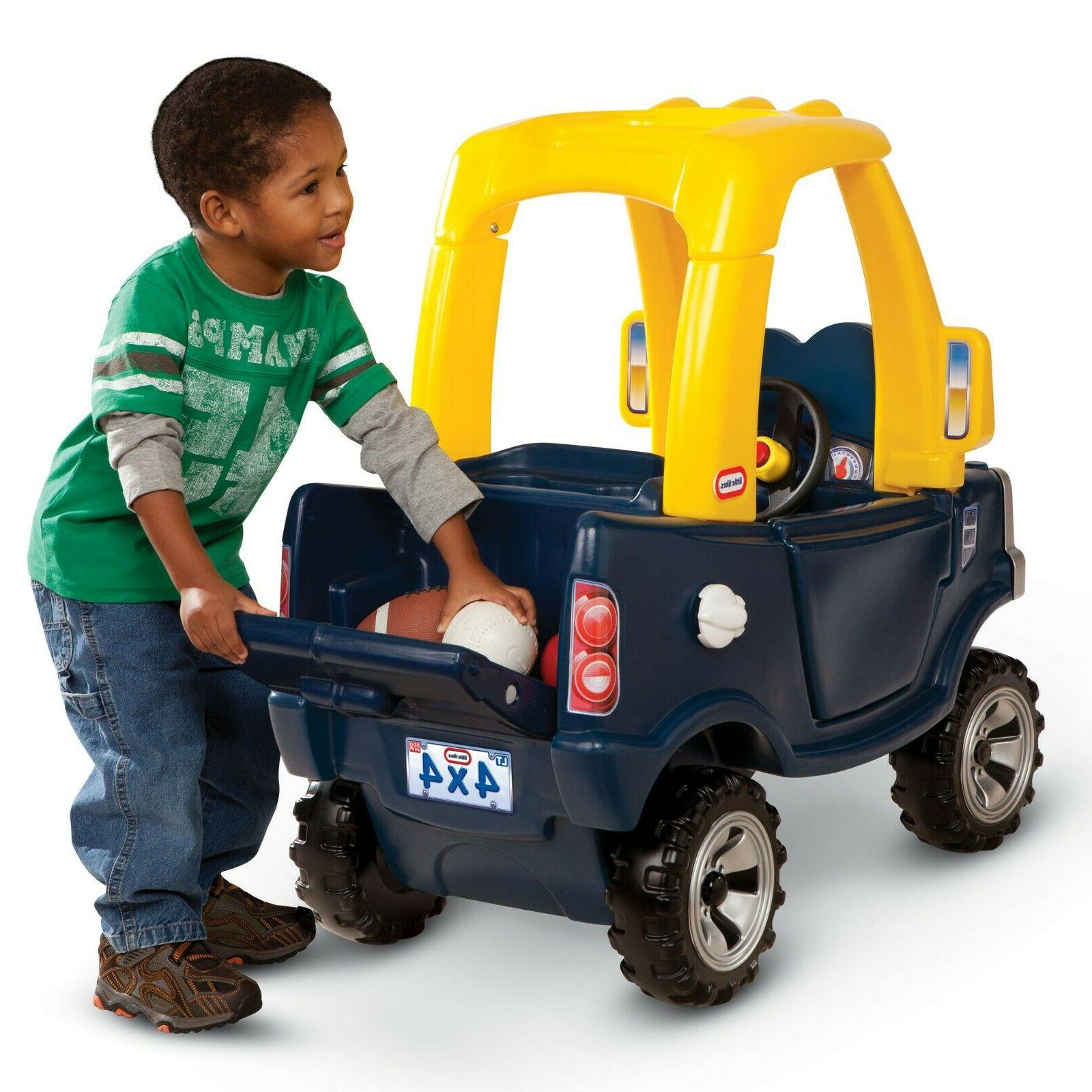 Little Cozy Truck Ride Toy Toddler Play Outdoor Child