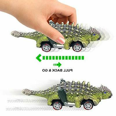 Dinosaur Cars, 6 Pack Old and