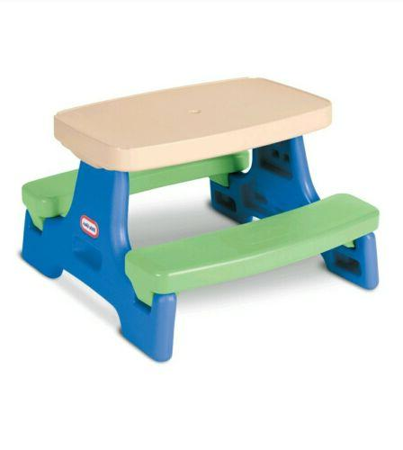 Little Tikes Store Jr. Umbrella Bench Picnic