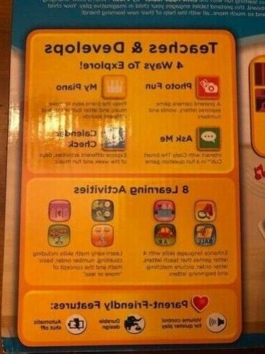 Educational 3 Olds Interactive Tablet