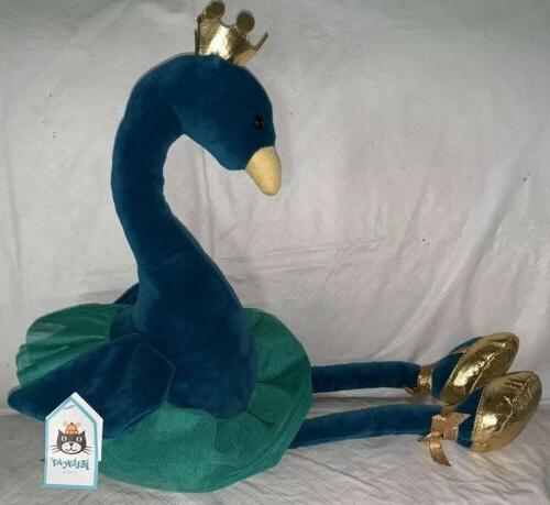 Jellycat Peacock NWT Plush London Baby Toddler New