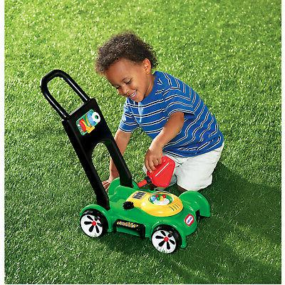 Little Go Mower Toy Pretend Green And Black