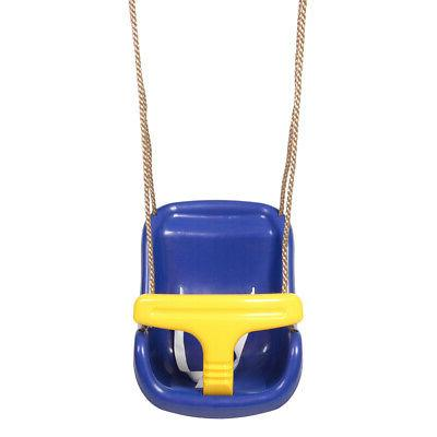 High Back Wide Seat Belt Child Kid Outdoor Play Toy