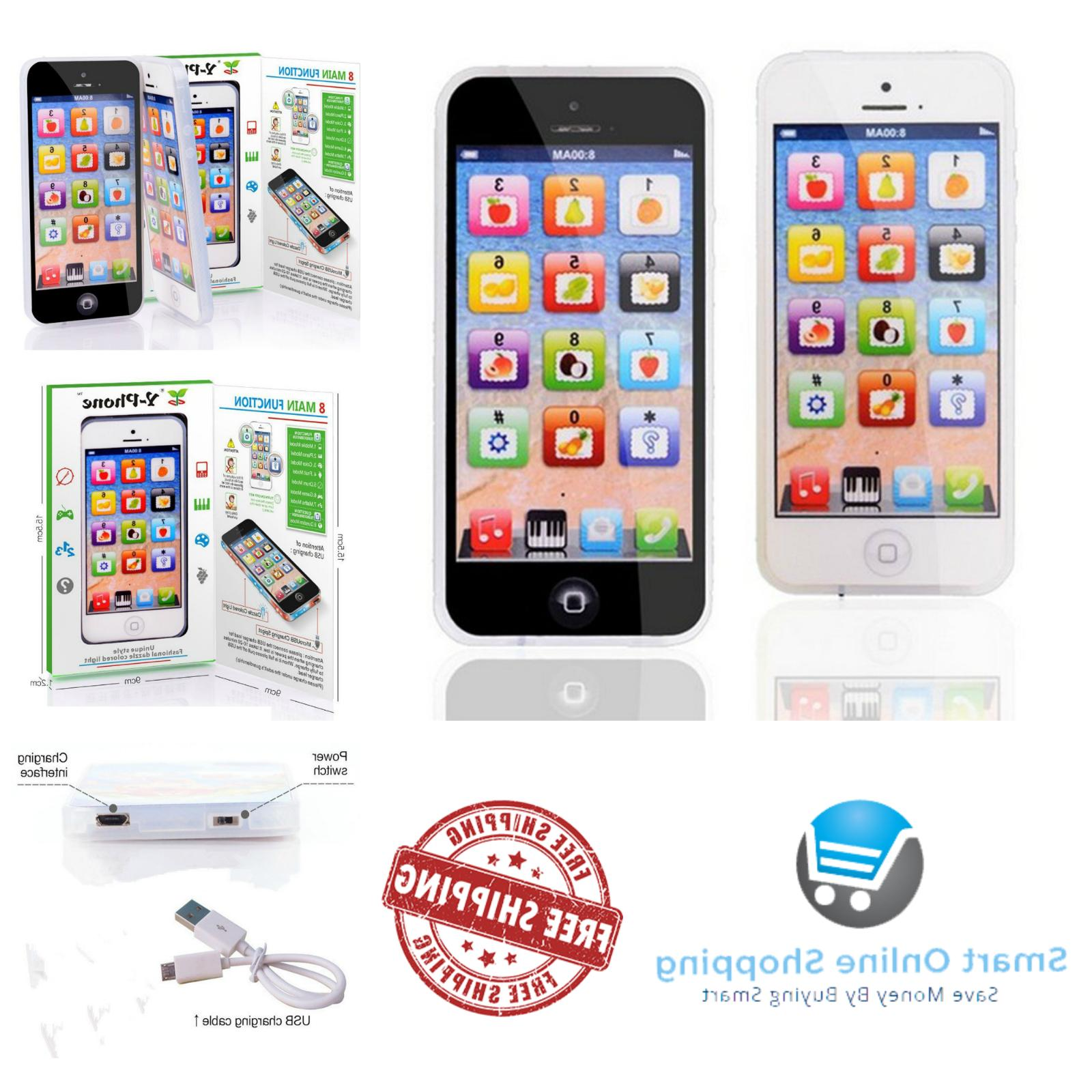 Baby iPhone Tablet Educational Toys 1 2 Old Activity