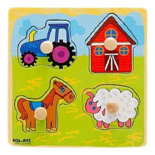 JW_ Baby Toddler Development Puzzle Welco