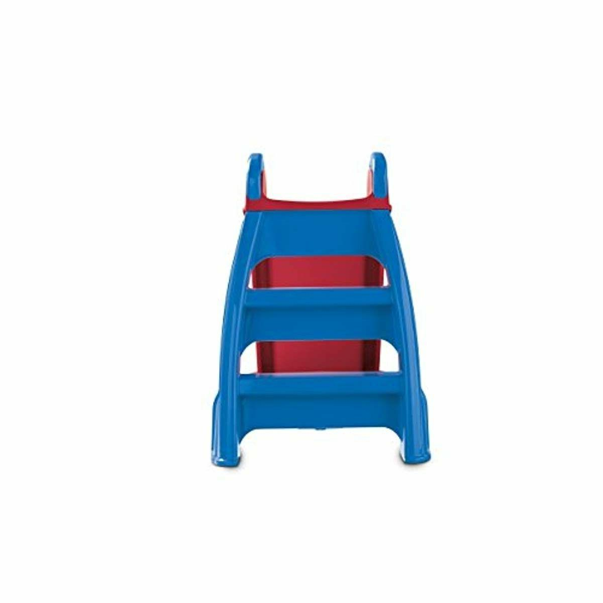 Little First Slide Red Blue Outdoor Toddler Toy Kids Strong