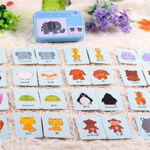Baby Kids Cognition Puzzle Toys Toddler Matching Game Cognit